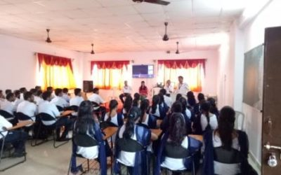 Alumni Talk with Final Year Students of Department of Civil & EXTC Engineering by Ms. Kalyani Ambhore