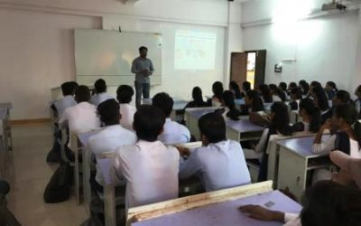 Guest lecture by Er. Abhishek Dhamankar (Youngest IES Officer)