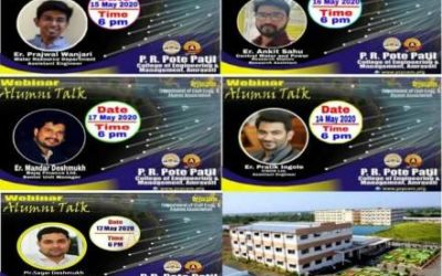 A series of Alumni Talk arrange for the students