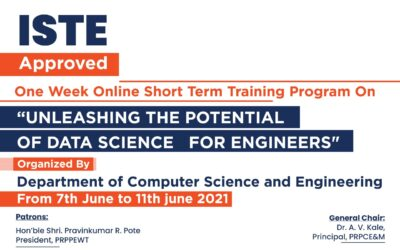STTP On Unleashing the Potential of Data Science for Engineers