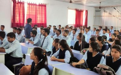 """Guest Lecture on """"Gate Awareness"""" By Mr.Umesh Aglawe"""