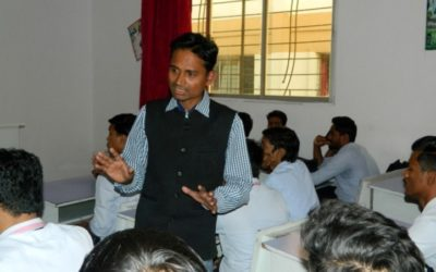 Guest Lecture By Mr. Somwanshi And Mr. Joshi, Cadd Desk ,Latur