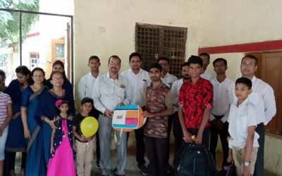 """""""A visit at Orphanage Tapovan, on the occasion of Diwali"""""""