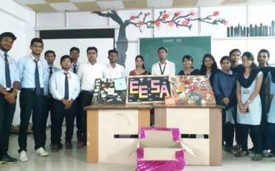 Rakhi Competition at College Level & Collected Rakhis Send to Soldiers