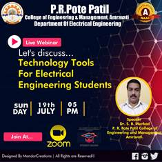 Webinar on Technology tools for electrical engineering Students 19th July 2020
