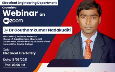 Webinar on Electrical Fire Safety