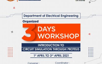 Workshop on Introduction to Circuit Simulation through Proteus