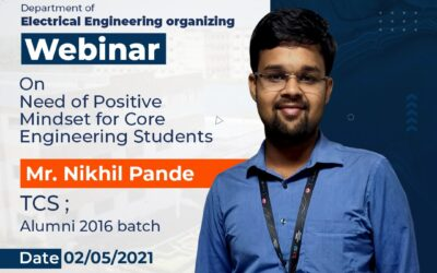 Webinar on Need of Positive Mindset for Core Engineering students