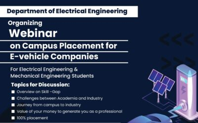Webinar on Campus Placement For Electric Vehicle Company