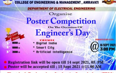 Poster Presentation Competition on Engineer's Day