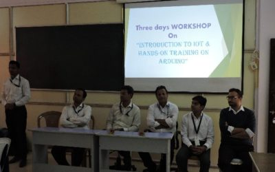 """Workshop on """"Introduction to IoT and Hands-on Training on Arduino"""