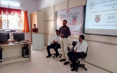 Workshop on Raspberry Pi 3 & IoT (for faculty)