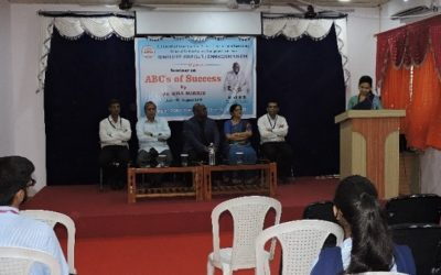 """Guest lecture on """"ABCs of Success"""