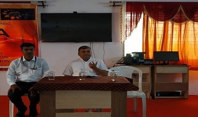 """Guest Lecture on """"Importance of Meditation and Yoga"""""""