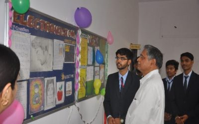 The inaugural ceremony of the wall magazine