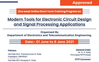 """STTP on """"Modern Tools for Electronic Circuit Design and Signal Processing Applications"""""""