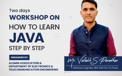 """""""Two Days Workshop on How to Learn Java Step By Step"""""""