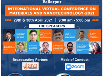 INTERNATIONAL VIRTUAL CONFERENCE ON MATERIALS AND NANOTECHNOLOGY