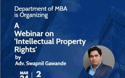 Webinar on Intellectual Property Rights