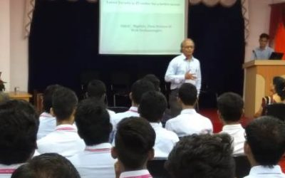 Guest Lecture By Mr. Shrikant Pande