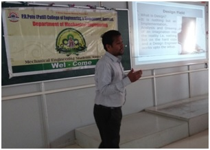 Expert Lecture on topic 'Role of Mechanical Engineer in Industrial Design'