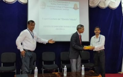"""Expert Lecture on """"Opportunities and Scope in Electric Vehicle"""""""