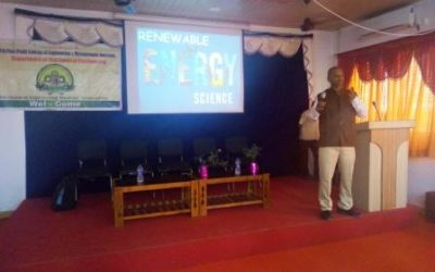 Expert lecture on 'Current Scenario on Renewable Energy Resources in India'