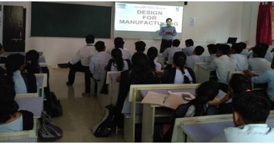 Expert Lecture on topic 'Opportunities for Engineers Design & Manufacturing Sector'
