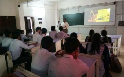 Guest Lecture on topic 'Role of Design Engineer in Manufacturing Industry'