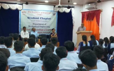 Inaugural ceremony of IEI Students Chapter 2018-19.