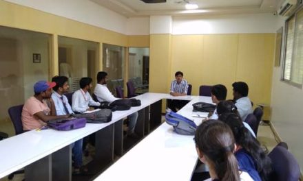 Alumni Talk of Mr. Anurag Thawali working in TCS