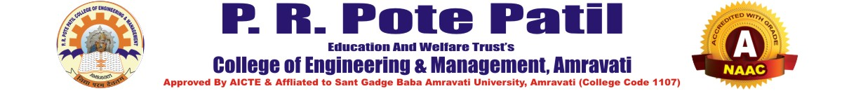 P.R. Pote College of Engineering & Management
